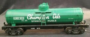 "O Scale K-Line ""Champion Oils"" ""Sterling Fuels Limited"" #6016 -  Tanker Car"