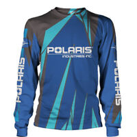Polaris Industries-Long Sleeve Shirt-3D/Size S to 5XL-TOP GIFT-FREE SHIPPING