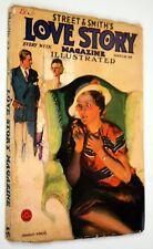 Street & Smith's Love Story Magazine Vol. CVI, #1, March 24, 1934 Pulp Magazine