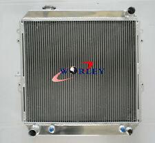 3 Row for Toyota 4 Runner HILUX VZN130 3.0L 3VZ-FE V6 Petrol Aluminum Radiator