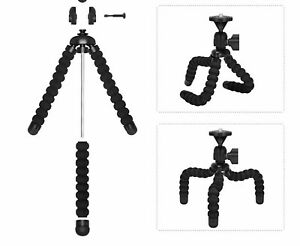 2 Pack Tripod Stand Mount Flexible Mini Octopus Wraps For Gopro Camera Phones