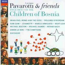 Luciano Pavarotti Together for the children of Bosnia (1996, & Friends) [CD]
