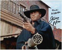 Django Foto autografata da Franco Nero Rare Signed Photo Autografo Cinema