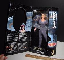 "Woman of Star Trek Next Generation - Deanna Troi - Playmates -1999 - 12"" - Rare"