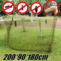 Outdoor Camping Mosquito Insect Net Netting Cover Storage Bag Travel Sleep Tent