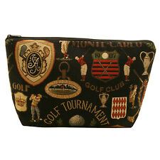 BELLY MODEN - GOLF TAPESTRY STYLE WASH BAG