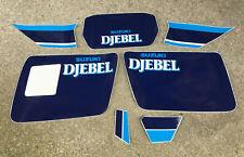 Suzuki DR 600 DJEBEL 1988  Kit Tabelle - adesivi/adhesives/stickers/decal