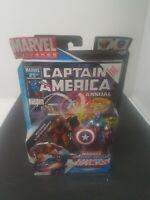 "Marvel Universe Wolverine & Captain America 3.75"" Action Figures NIB Hasbro"