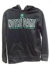 Colosseum Fightin Irish Notre Dame hoodie sweatshirt black green size S MINT