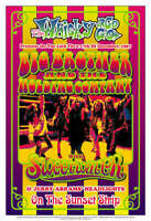 Janis Joplin Big Brother Whisky A Go Go 1967 rock concert poster quality print