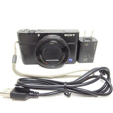 Sony Cyber-shot RX100 IV 20.1MP Digital Camera - Black (DSC-RX100M4)
