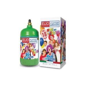 Kit Bombola Gas Elio Compreso Di 18 Palloncini Per Feste Compleanni Party