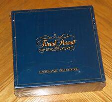 Sealed Original Trivial Pursuit Genus Edition Master Game - Vtg 1981 Horn Abbot
