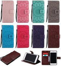 Mode Ziemlich Flip Wallet PU Leder Tasche Bumper Cover Case Schutz Hülle Etui