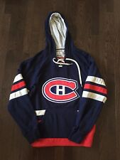 Montreal Canadiens NHL CCM Athletic Equipment Hoodie Mens Size S