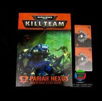 Warhammer 40K Kill Team Pariah Nexus BOOK and CARDS - NEW!!!