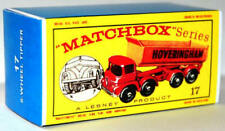 Matchbox Lesney No 17  FODEN HOVERINGHAM TIPPER  Empty Box style D