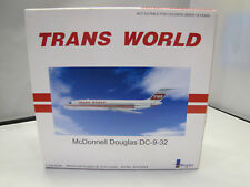 If932004 Chaînes mc donnell douglas dc-9-32 TWA Trans World Twin Stripe 1:200