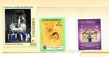 COLOMBIA Sc 1071-73 NH ISSUE OF 1993 - ART