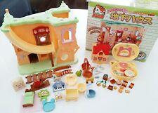Epoch Hamtaro Ham Ham Playset Lot House Accessories Furniture & Mini Compact