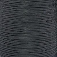 550 Paracord Black 10 25 50 100 Made in America for DIY Survival Bracelets