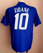 France 2002 - 2004 Home football shirt #10 Zidane