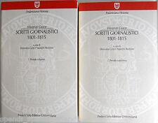 VINCENZO CUOCO SCRITTI GIORNALISTICI 1801-1815 FRIDERICIANA ED. UNIV. 1999