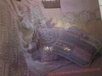 *GRANNY SQUARES, NANNY SQUARES (crochet)--very good condition 1989
