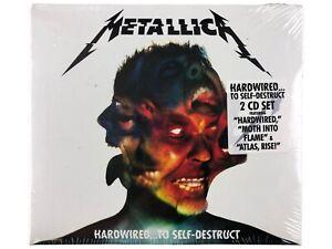 METALLICA HARDWIRED TO SELF-DESTRUCT 2 CD SET 2016 FIRST PRESS THRASH METAL NEW