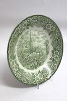 Broadhust Staffordshire Ironstone Grün England Suppenteller