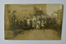 More details for postcard royal naval officer wedding at masonic temple photo rp social history