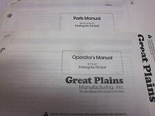 Great Plains 12 End Wheel No Till Drill Operators Amp Parts Manual