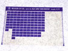 Microfich Ersatzteilkatalog Ersatzteilliste Piaggio Hexagon 125 LX 4-Takt ZAPM15
