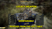[PC] Fallout 76, Bloodied, Explosive, 15, BE15, GATLING PLASMA, LEGACY WEAPON