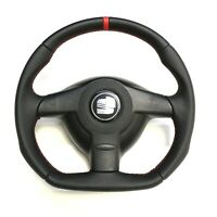 Steering Wheel VW Golf Passat GT GTI R32 !! Seat Leon !! FLAT BOTTOM // TT STYLE