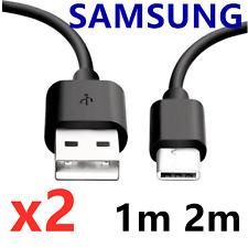 CABLE USB TYPE-C CHARGEUR SAMSUNG S10 S8 S9 PLUS NOTE 8 9 RENFORCE NOIR