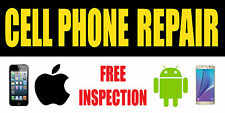 3'x6' CELL PHONE REPAIR BANNER SIGN  - screen repair iphone