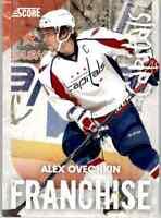 2010-11 Score Franchise Alex Ovechkin #30