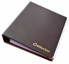 Brown Banknotes Album Folder Book Notes Banknote Big Capacity for Extra Pages /1