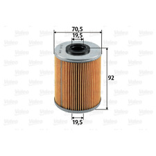 Kraftstofffilter - Valeo 587902