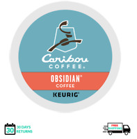 Caribou Obsidian Keurig Coffee K-cups YOU PICK THE SIZE
