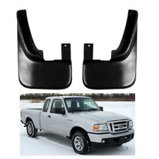 2 Front Mud Flap Splash Guard Rubber for 2002-2009 Ford Ranger Mazda BT-50 BT50