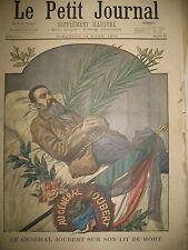 TRANSVAAL BOER GENERAL JOUBERT EXPO UNIVERSELLE ETATS-UNIS LE PETIT JOURNAL 1900