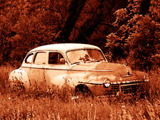 """Abandoned Junk Cars Collection #9 - Canvas Art Poster 18"""" x 24"""""""