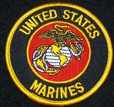 UNITED STATES MARINE CORPS    US MARINES 3 inch Round Patch