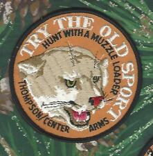 """Thompson Center Arms Cougar/Mt Lion 4"""" Hunting Patch """"Try the Old Sport"""""""