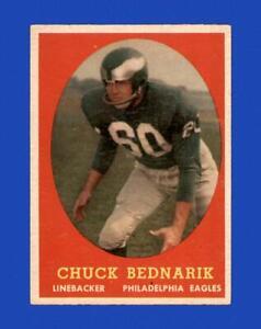 1958 Topps Set Break # 35 Chuck Bednarik EX-EXMINT *GMCARDS*