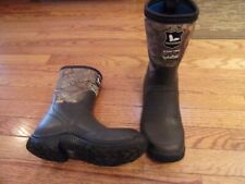 Field and Stream Scent Free, Hydro Proof insulated boot camo Kids Size US 5 to 6