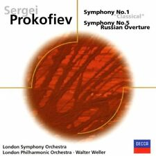 Prokofiev: Symphonies 1 and 5 LSO London Philharmonic Weller