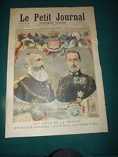 LE PETIT JOURNAL 1895 N° 255 Léopold 2 , SAR Nicolas price grèce,  S175